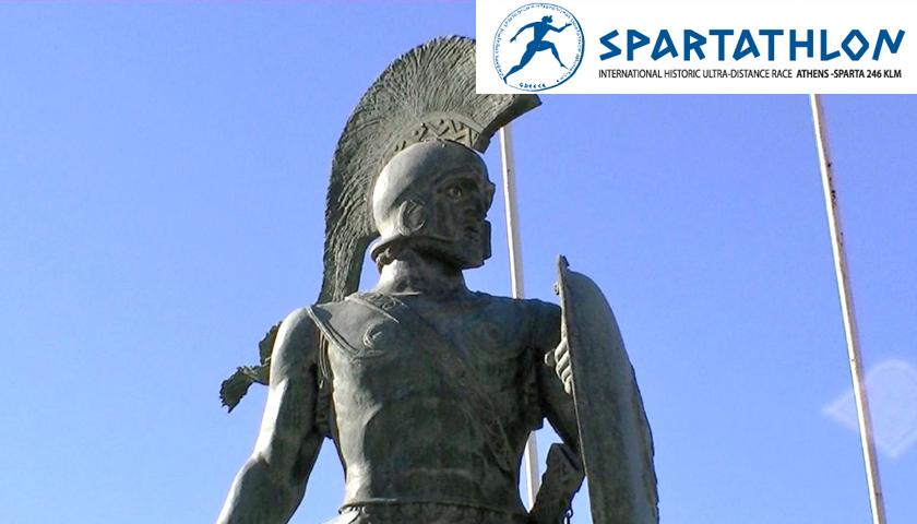 Leonidas szobor Spárta