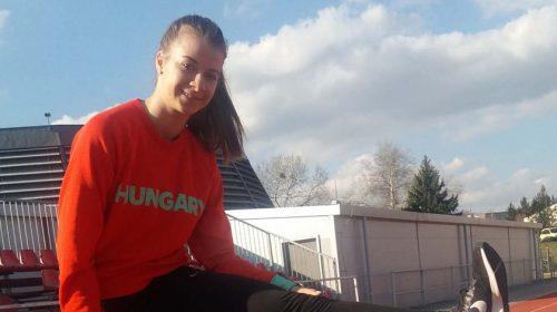 Tóth Anna 100 m gátfutás