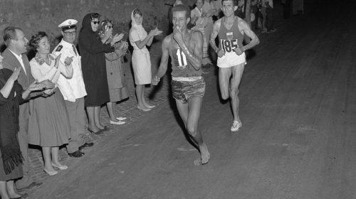 Abebe Bikila 1960 Róma