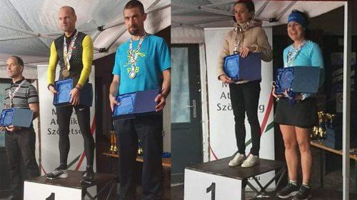 100 km országos bajnokság dobogósok