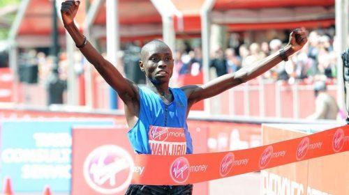 Daniel Wanjirua London Marathon 2017