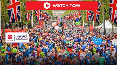London Maraton élő közvetítés