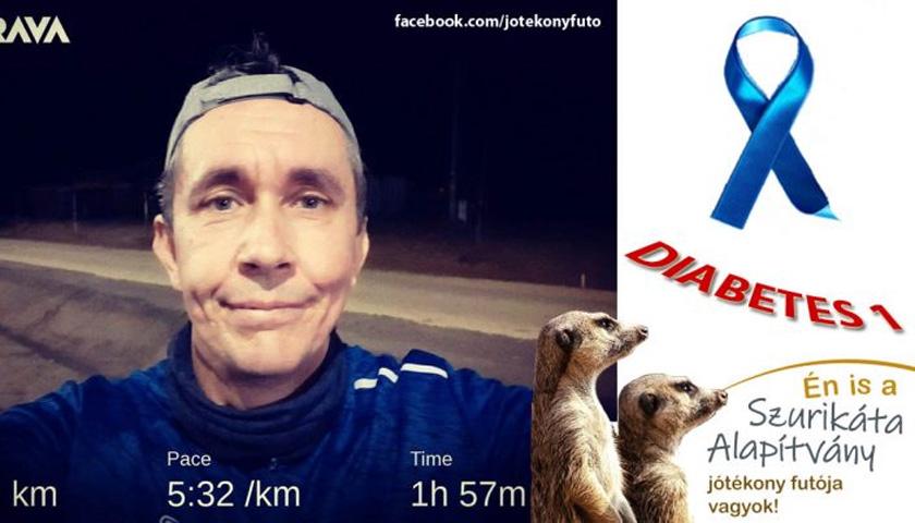 Dormán György jótékony futó