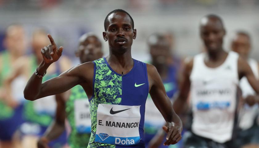 Elijah Manangoi eltiltás