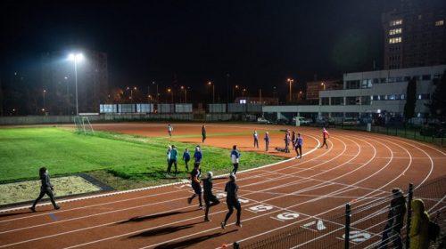 SZVSE atlétikai pálya