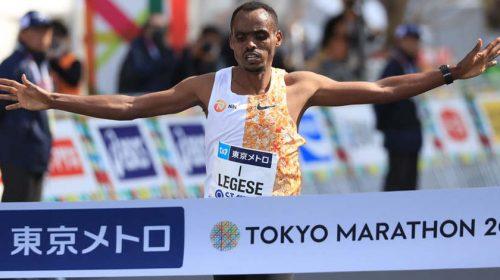 Birhanu Legese Tokio Maraton 2020