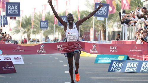 Kibiwott Kandie RAK félmaraton 2020