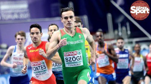 Szögi István 1500 méter