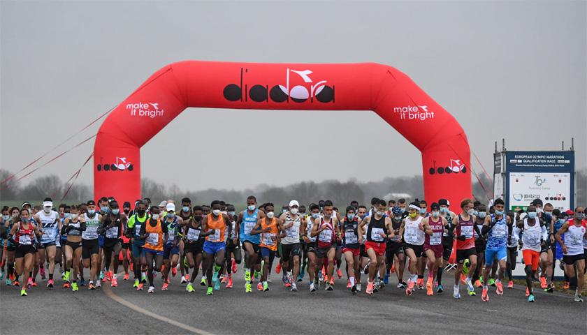 Xiamen marathon tuscany camp elit race