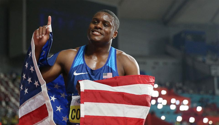 Christian Coleman 100m síkfutás