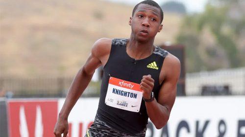 Erriyon Knighton 200m