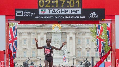 Mary Keitany London Marathon 2017