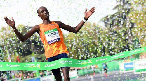 Elisha Rotich Párizs Maraton 2021