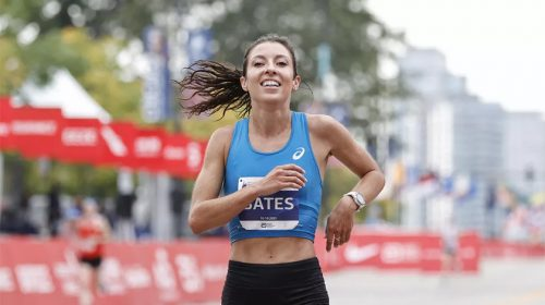 Emma Bates Chicago Marathon 2021