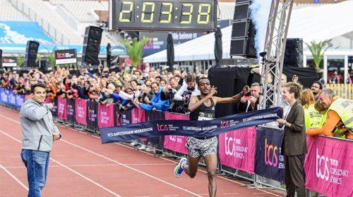 Tamirat Tola Amsterdam Marathon