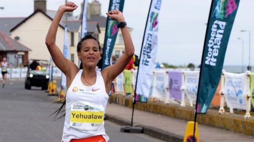 Yelamzerf Yehualaw Antrim Coast Half Marathon 2021